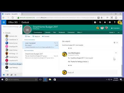 Managing Your Messages In Office 365
