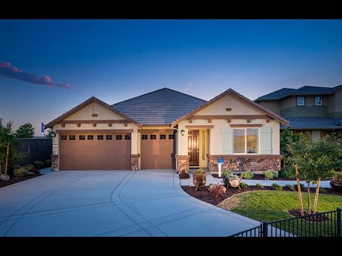 The Brighton Model Home at Marisol | New Solar Homes by Lennar