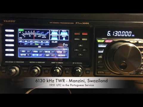 6130 kHz TWR - Manzini, Swaziland