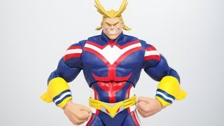 Mcfarlane Toys My Hero Academia ALL MIGHT figure review