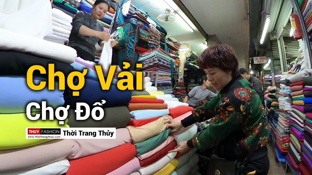 Chợ bán Vải may mặc nổi tiếng Hải Phòng tại chợ Tam Bạc năm 2020