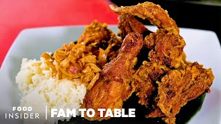 Crunchy, Juicy Thai Fried Chicken Is Made By This Family-Owned Restaurant | Fam To Table