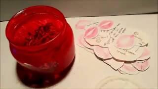 Sevgililer günü Hediye yapımı (aşk dolu kavanoz) DIY /подарок на день Святого Валентина