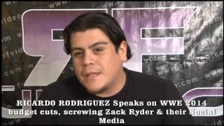 RICARDO RODRIGUEZ SPEAKS ON WWE BURYING ZACK RYDER & MORE!