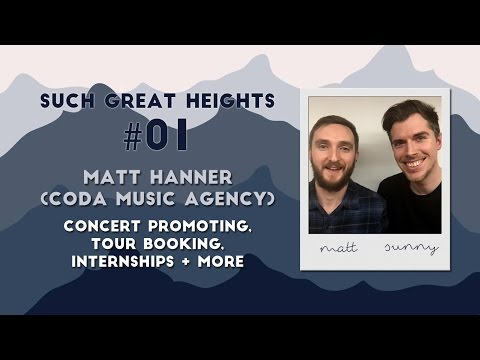 Music Podcast #01 - Matt Hanner (CODA Booking Agency) | Such