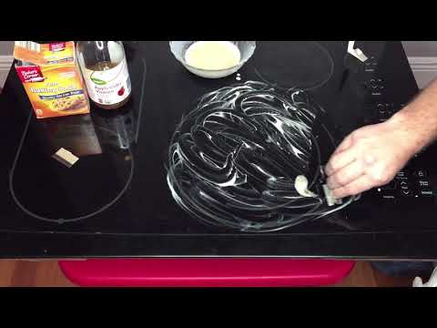 How to clean a glass cooktop in less than 5 minutes