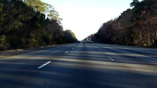 Interstate 95 - Georgia (Exits 1 to 6) northbound