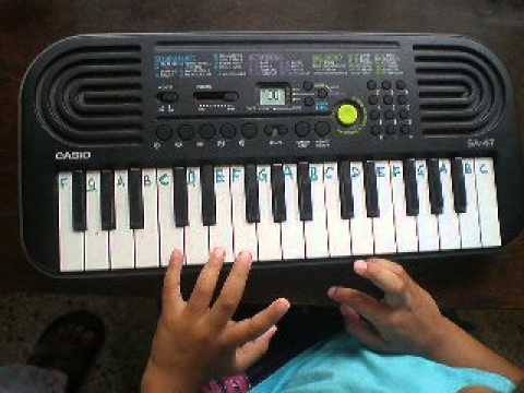Happy Birthday Song On Keyboard By Punnya Youtube