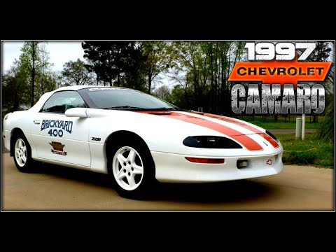97 camaro z28 30th anniversary specs