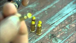 bb gun mod, .22 cal blank rifle cartridge used to fire large projectiles