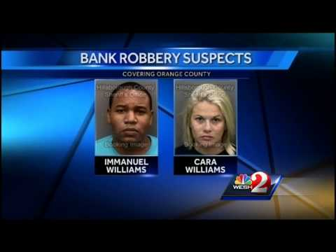 FBI: Modern day 'Bonnie and Clyde' robbed 15 banks