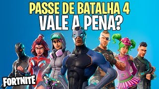 FORTNITE – IS IT WORTH BUYING THE SEASON 4 BATTLE PASS?