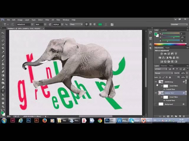 Работа со смарт-объектами в Фотошопе, сферы применения, возможности и примеры
