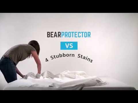 Bear Mattress Protector vs. 4 Stubborn Stains
