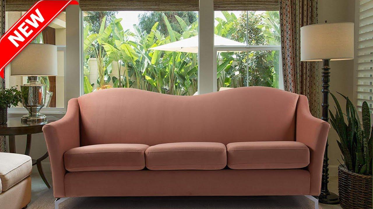 Camelback Sofa Modern Set