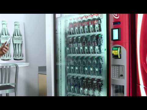 Android Pay + Coca-Cola Vending