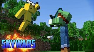 Manqueando en Skywars con amigos | Minecraft 1.11.2 | HD | luigi2498