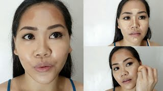 HOW TO CONTOUR, HIGHLIGHT AND BLUSH | Asian Face