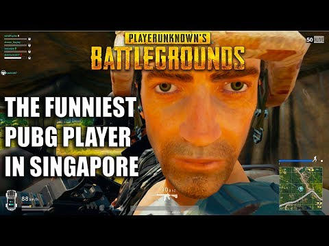 THE FUNNIEST PUBG PLAYER IN SINGAPORE!