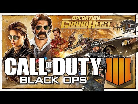 COD Black Ops 4 // UPDATE // Operation Grand Heist // Call of Duty Blackout Live Stream Gameplay thumbnail