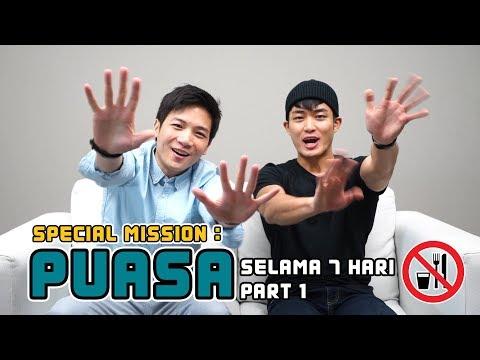 Special Mission : Puasa selama 7 hari || PART 1