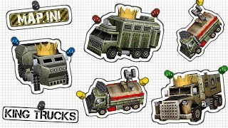 c&C Zero Hour Multiplayer Game Mode: King Trucks  (map.ini)