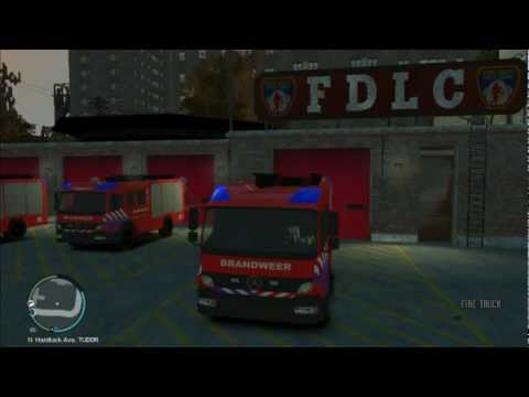 Responding To Crash Scene [GTA IV]