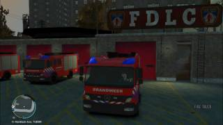 Responding To Crash Scene [GTA IV]