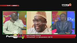 Revue de l'actualité avec Moustapha Diop - Petit Déj du 13 déc. 2019
