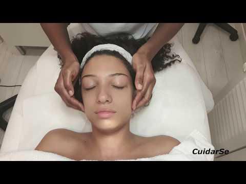 Como Realizar un Drenaje Linfatico Facial / How to Perform a Facial Lymphatic Drainage
