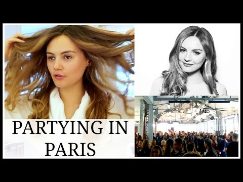 GETTING READY FOR A PARTY IN PARIS | Niomi Smart VLOG