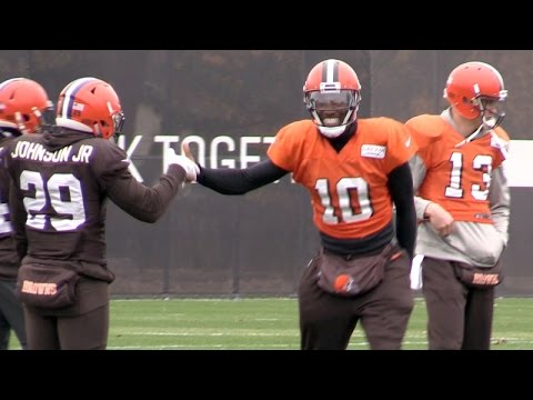 Robert Griffin III returns to practice for Cleveland Browns