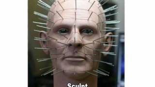 Pinhead Animated Prop Photos