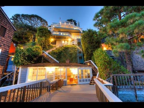 Corinthian Island Waterfront Home in Belvedere, California