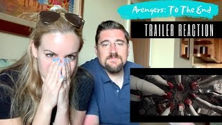 AVENGERS 4: ENDGAME 'To The End' Trailer Reaction