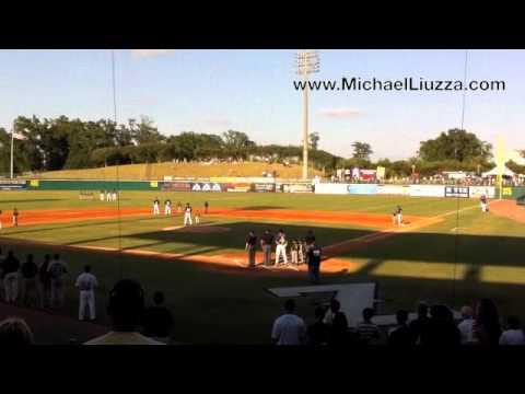 Michael Liuzza - National Anthem at New Orleans Ze...