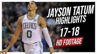 Celtics SF Jayson Tatum 2017-2018 Season Highlights ᴴᴰ