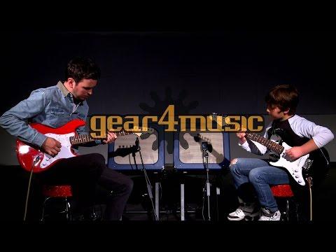 3/4 LA Electric Guitar by Gear4music