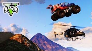 GTA 5 MONSTER TRUCK Derby! | GTA V Epic Stunts & Demolition Derby | Grand Theft Auto V