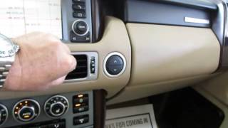 2008 Land Rover Range Rover HSE AWD   used cars SUVs Miami   Vehiclemax net black 32593
