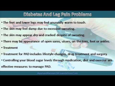 Diabetes And Leg Pain, Cramps And Leg Problems