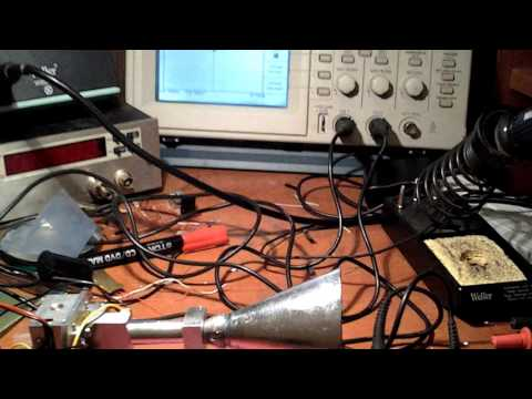 24GHz doppler radar (CW - Continuous Wave) - first test...