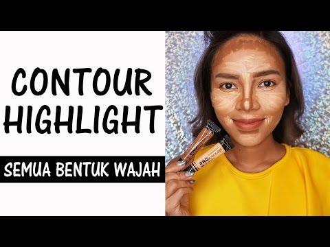 Contour & Highlight Sesuai Bentuk Wajah
