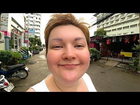 РЕАЛЬНЫЙ Таиланд. Паттайя - это большая ДЕРЕВНЯ! Улицы Джомтьен в поисках ЕДЫ и недорогое кафе #43