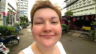 РЕАЛЬНЫЙ Таиланд Паттайя это большая ДЕРЕВНЯ Улицы Джомтьен в поисках ЕДЫ и недорогое кафе 43