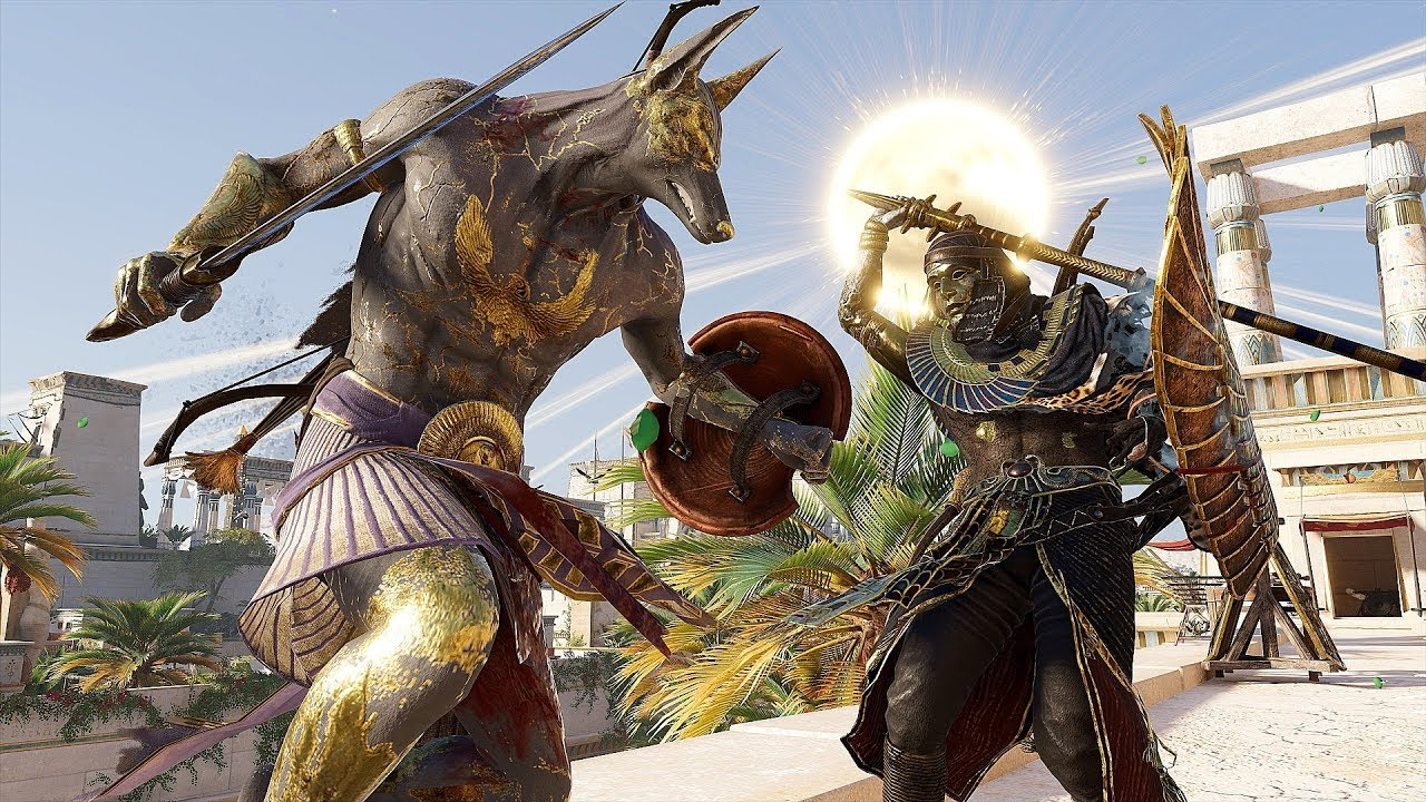 Assassin 39 s creed origins atens spear rampage in beautiful aten afterlife youtube - Assassin s creed pictures ...