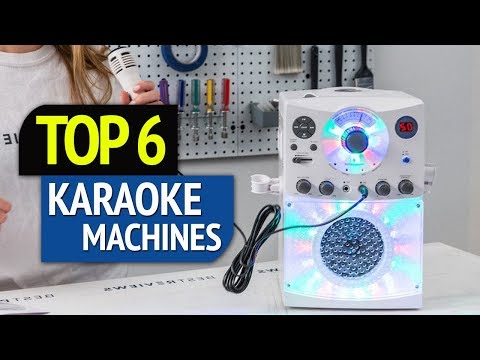 TOP 6: Karaoke Machines