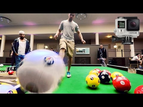 Foot Pool - Derby Telegraph GoPro footage
