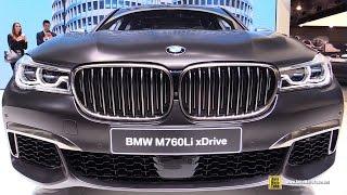 2017 BMW M760Li xDrive V12 600hp - Exterior and Interior Walkaround - Debut 2016 Geneva Motor Show
