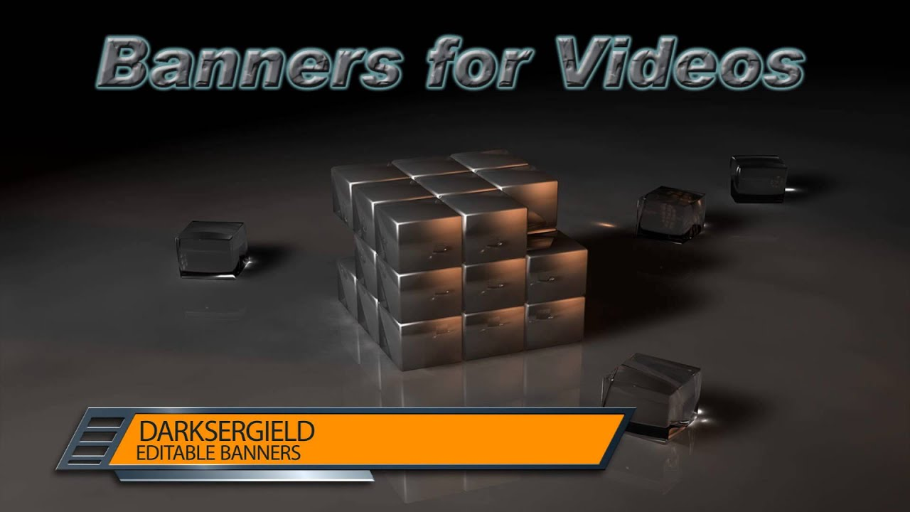Animated Banner For Videos Transfer Free Project After Effects 4